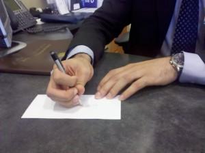 Bankers pencil grip 1